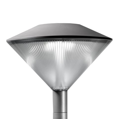 Efficient, aesthetic and cost-effective, the Friza outdoor luminaire ensures performance and comfort in public spaces.