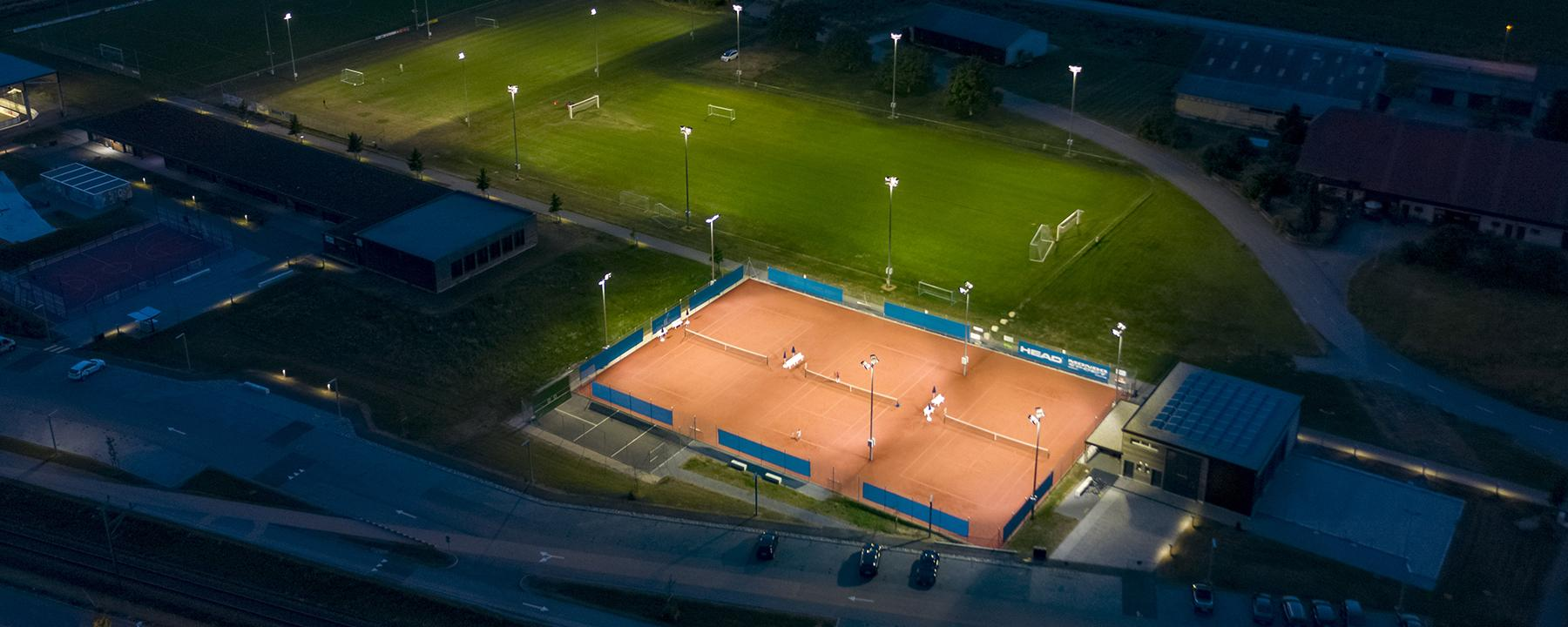 Sports lighting solutions that don't pollute